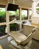 Garden view operatory with TV and heated massage chair