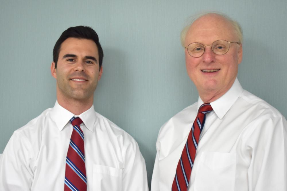 Drs. Justison and Gladnick stand side by side | Wilmington DE Dentist