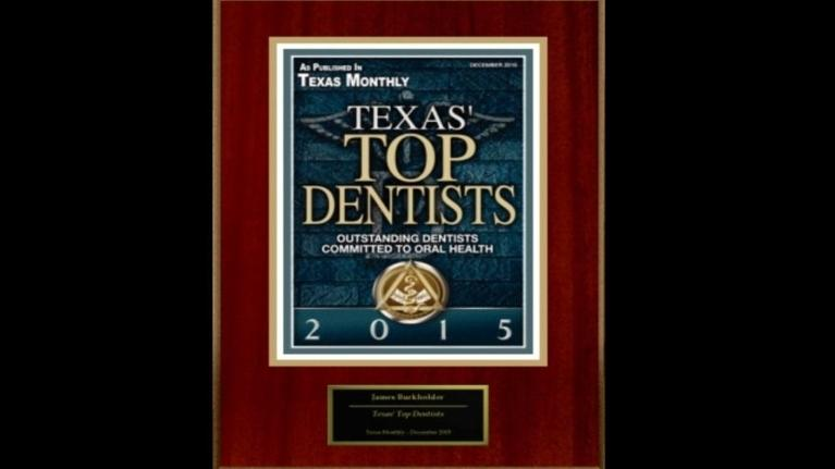 Texas Monthly Top Dentist James Burkholder DDS